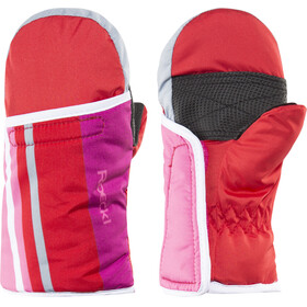 Roeckl Toddlers Four Ski Gloves red